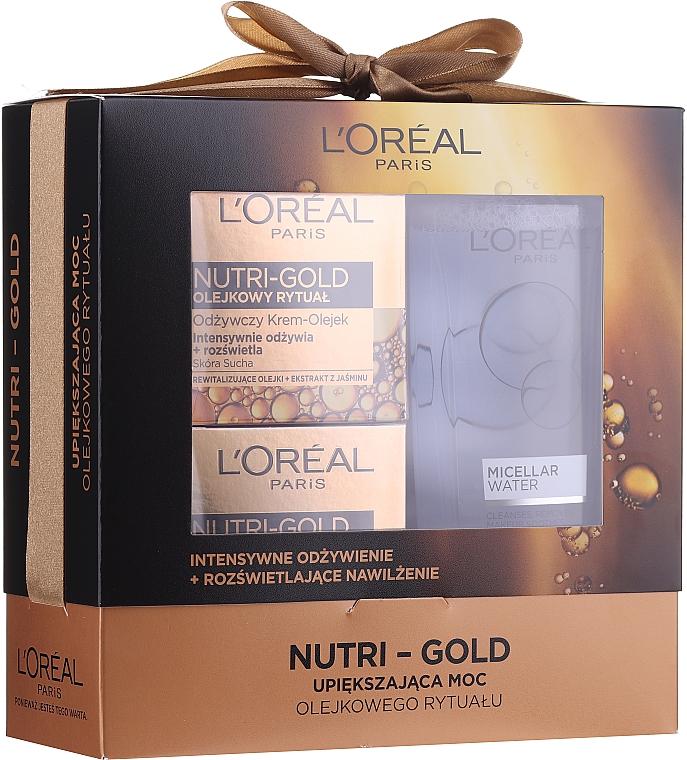 Gesichtspflegeset - Loreal Nutri Gold