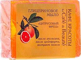 Düfte, Parfümerie und Kosmetik Glycerinseife mit Zitrusaroma - Le Cafe de Beaute Glycerin Soap