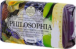 Düfte, Parfümerie und Kosmetik Naturseife mit schwarzer Iris und Rosen - Nesti Dante Philosophia Cream