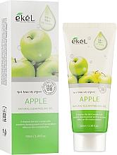 Düfte, Parfümerie und Kosmetik Gesichtspeelinggel mit Apfelextrakt - Ekel Apple Natural Clean Peeling Gel