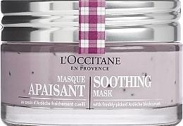 Düfte, Parfümerie und Kosmetik Beruhigende Gesichtsmaske mit schwarzer Johannisbeere - L'Occitane Soothing Mask