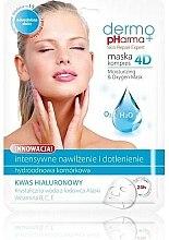 Düfte, Parfümerie und Kosmetik Gesichtsmaske - Dermo Pharma Skin Repair Expert Skin Lightening Face Mask 4D