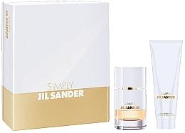 Düfte, Parfümerie und Kosmetik Jil Sander Simply Jil Sander - Duftset (Eau de Toilette 40ml + Körperlotion 75ml)