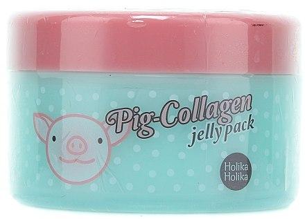 Nacht Collagen Gesichtsmasken - Holika Holika Pig-Collagen Jelly Pack — Bild N1