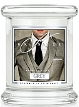 Düfte, Parfümerie und Kosmetik Duftkerze im Glas Grey - Kringle Candle Grey