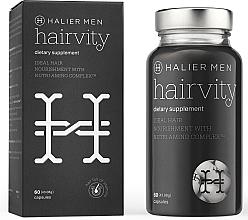Düfte, Parfümerie und Kosmetik Nahrungsergänzungsmittel mit Kollagen und Aminosäurenkomplex für gesundes Haar und gegen Haarausfall - Halier Men Hairvity Hair Vitamins Anti Hair Loss