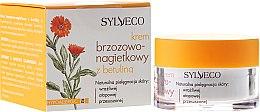 Düfte, Parfümerie und Kosmetik Birken-Ringelblumencreme mit Betulin für empfindliche, atopische und trockene Haut - Sylveco Birch And Marigold Day Cream With Betulin