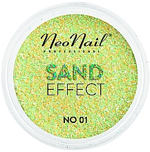 Düfte, Parfümerie und Kosmetik Nagelglitzer Sand-Effekt - NeoNail Professional Sand Effect