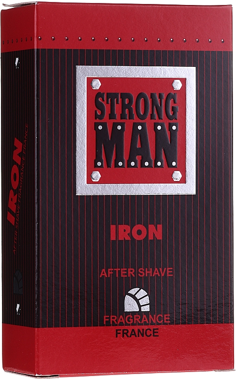 After Shave Lotion Iron - Strong Men After Shave Iron