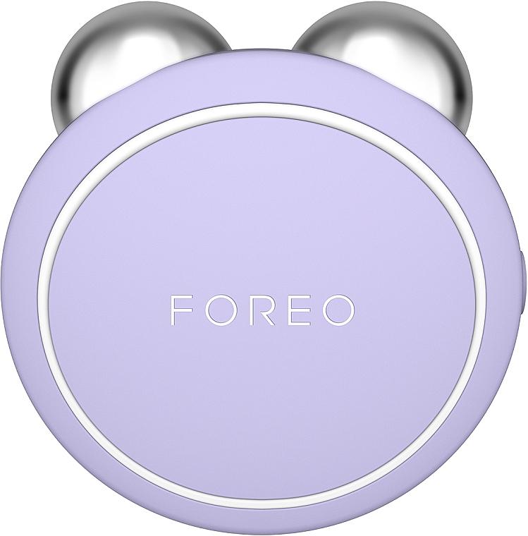 Gesichtsmassagegerät mit Mikrostrom-Gesichtsbehandlung Mini Lavendel - Foreo Bear Mini Lavender