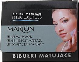 Düfte, Parfümerie und Kosmetik Mattierende Gesichtstücher 5 St. - Marion Mat Express