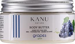 Düfte, Parfümerie und Kosmetik Masło do ciała Greckie winogrona - Kanu Nature Greek Grape Body Butter