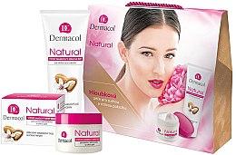 Düfte, Parfümerie und Kosmetik Kosmetikset - Dermacol Natural Set (Gesichtscreme 50ml + Handcreme 100ml)