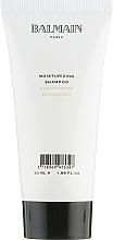 Düfte, Parfümerie und Kosmetik Feuchtigkeitsspendendes Shampoo mit Arganöl - Balmain Paris Hair Couture Moisturizing Shampoo Travel Size