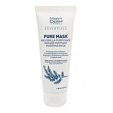 Düfte, Parfümerie und Kosmetik Reinigende Gesichtsmaske für fettige und zu Akne neigende Haut - MartiDerm Essentials Pure-Mask