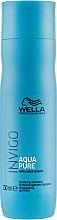 Düfte, Parfümerie und Kosmetik Erfrischendes Shampoo für empfindliche und gereizte Kopfhaut mit Lotusextrakt - Wella Professionals Invigo Aqua Pure Shampoo