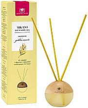 Düfte, Parfümerie und Kosmetik Kugelförmiger Aroma-Diffusor mit Duftstäbchen Mimose - Cristalinas Mikado Reed Diffuser
