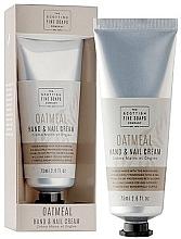 Düfte, Parfümerie und Kosmetik Hand- und Nagelcreme - Scottish Fine Soaps Oatmeal Hand & Nail Cream
