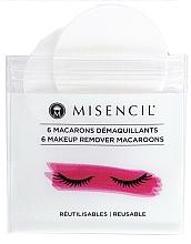 Düfte, Parfümerie und Kosmetik Wiederverwendbare Wattepads zum Abschminken 6 St. - Misencil Makeup Remover Macaroons