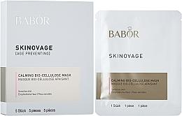 Düfte, Parfümerie und Kosmetik Bio-Cellulose-Gesichtsmaske für empfindliche Haut - Babor Skinovage Calming Bio-Cellulose Mask