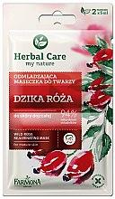 Düfte, Parfümerie und Kosmetik Verjüngende Gesichtsmaske Wilde Rose - Farmona Herbal Care