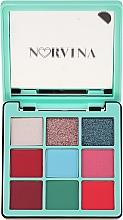 Düfte, Parfümerie und Kosmetik Lidschattenpalette - Anastasia Beverly Hills Norvina Pro Pigment Mini №3