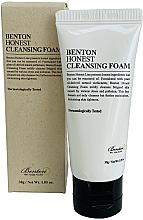 Düfte, Parfümerie und Kosmetik Gesichtsreinigungsschaum mit natürlichen Tensiden aus Palmöl - Benton Honest Cleansing Foam (Mini)