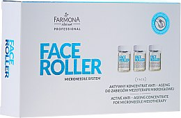 Düfte, Parfümerie und Kosmetik Aktives Anti-Aging Gesichtskonzentrat für Mikronadel-Mesotherapie - Farmona Professional Face Roller Active Anti-Ageing Concentrate