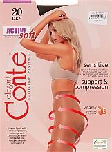 Düfte, Parfümerie und Kosmetik Strumpfhose für Damen Active Soft 20 Den Shade - Conte