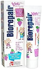 Düfte, Parfümerie und Kosmetik Zahnpasta für Kinder mit Traubengeschmack - Biorepair Kids Milk Teeth