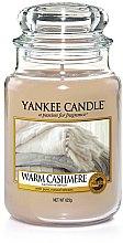 Düfte, Parfümerie und Kosmetik Duftkerze im Glas Warm Cashmere - Yankee Candle Warm Cashmere Jar