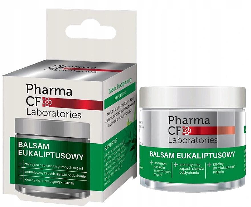 Beruhigender Massage-Körperbalsam mit Eukalyptus - Pharma CF