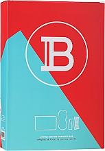 Düfte, Parfümerie und Kosmetik Haarpflegeset - Balmain Limited Edition Cosmetic Bag Red (Conditioner 50ml + Schlafmaske + Haarkamm + Kosmetiktasche)