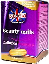 Düfte, Parfümerie und Kosmetik Nahrungsergänzungsmittel für gesunde Nägel mit Kollagen - Ronney Professional Beauty Nails + Collagen