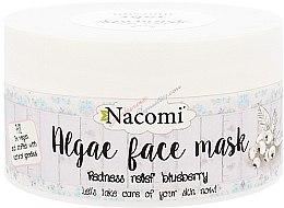 "Düfte, Parfümerie und Kosmetik Alginat-Gesichtsmaske ""Heidelbeere"" - Nacomi Professional Face Mask"
