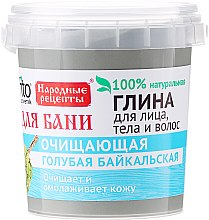 Düfte, Parfümerie und Kosmetik Blaue Tonerde für Gesicht, Körper und Haar aus dem Baikalsee - Fito Kosmetik