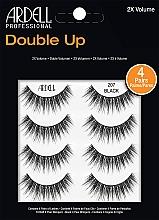 Düfte, Parfümerie und Kosmetik Künstliche Wimpern 207 - Ardell Double Up 2X Volume 207 Black