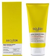 Düfte, Parfümerie und Kosmetik Nährende Körpercreme für mehr Elastizität mit Grapefruit - Decleor Tonic Grapefruit Body Firming Cream