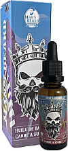 Düfte, Parfümerie und Kosmetik Aromatisches Bartöl Zuckerrohr - Man'S Beard Huile De Barbe Senteur Canne A Sucre
