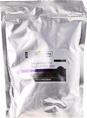 Festigende Algen-Gelmaske für das Gesicht - Bielenda Professional Program Face Strengthening Face Algae Gel Mask Violet (Nachfüller)