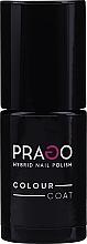 Düfte, Parfümerie und Kosmetik Hybrid-Nagellack - Prago Colour Coat