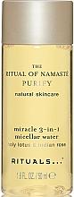 Düfte, Parfümerie und Kosmetik 3in1 Mizellen-Reinigungswasser mit Lotus und indischer Rose - Rituals The Ritual Of Namaste Micellar Water