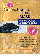 Düfte, Parfümerie und Kosmetik Anti-Aging-Gesichtsmaske - Dermacol Gold Elixir Caviar Face Mask