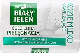 Düfte, Parfümerie und Kosmetik Hypoallergene Festseife mit Ziegenmilch - Bialy Jelen Hypoallergenic Soap With Goat Milk