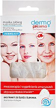Düfte, Parfümerie und Kosmetik Verjüngende Tuchmaske für das Gesicht mit Schneckenschleimextrakt - Dermo Pharma Mesotherapy & Wrinkles Filling Effect