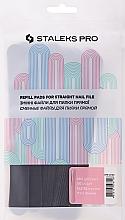 Düfte, Parfümerie und Kosmetik Ersatzfeilenblätter gerade Körnung 180 DFE-22-180 - Staleks Pro (50 St.)