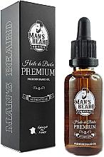 Düfte, Parfümerie und Kosmetik Pflegendes Bartöl - Man's Beard Huile De Barbe Premium