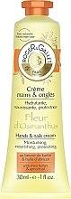 Feuchtigkeitsspendende, nährende und schützende Hand- und Nagelcreme mit Sheabutter und Aprikosenöl - Roger & Gallet Fleur d'Osmanthus Hand & Nail Cream — Bild N1