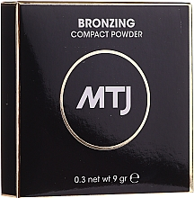 Düfte, Parfümerie und Kosmetik Kompakter Bronzepuder - MTJ Cosmetics Bronzing Compact Powder