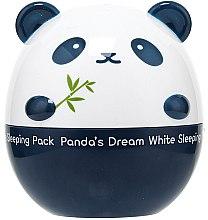 Düfte, Parfümerie und Kosmetik Aufhellende Nachtmaske mit Lavendel- und Rosmarinextrakt - Tony Moly Panda's Dream White Sleeping Pack